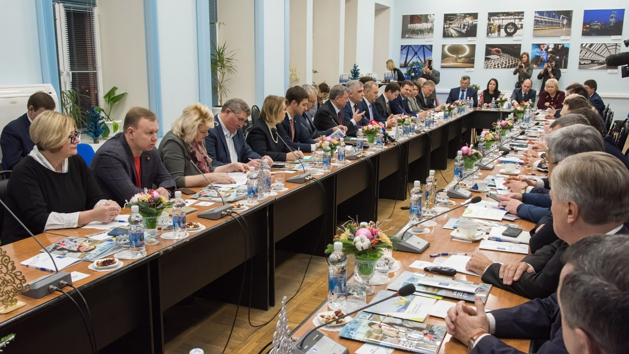 Итоговая встреча предпринимателей региона с Анатолием Дмитриевичем Артамоновым
